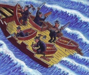 В одной лодке