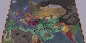 Карта мира Crusader Kings II